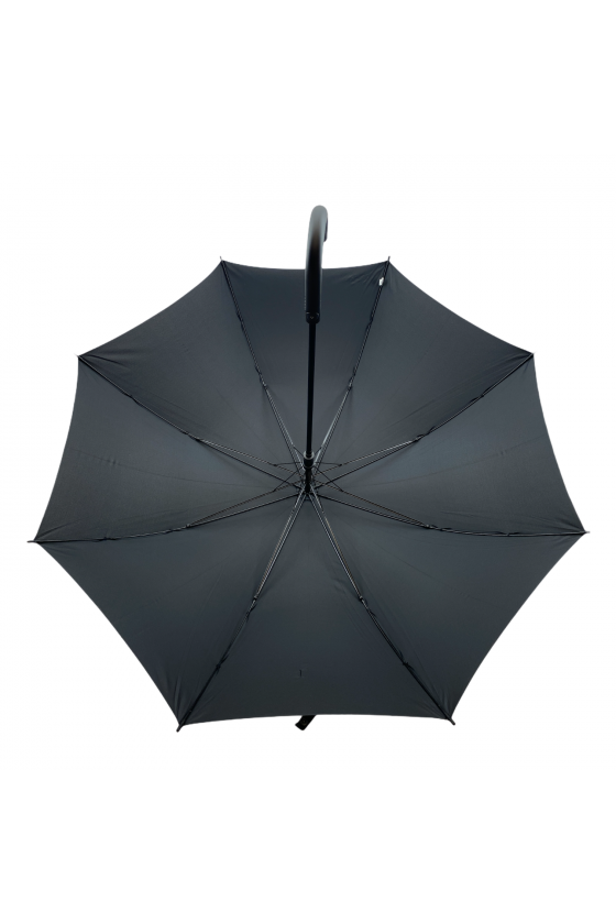 Grand parapluie canne noir