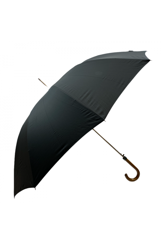 Grand parapluie canne noir...