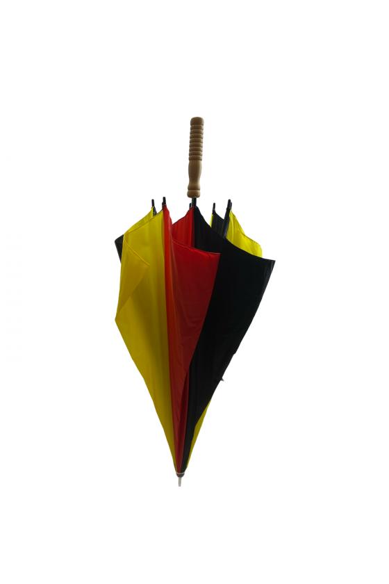 Grand parapluie aux couleurs nationales Belge